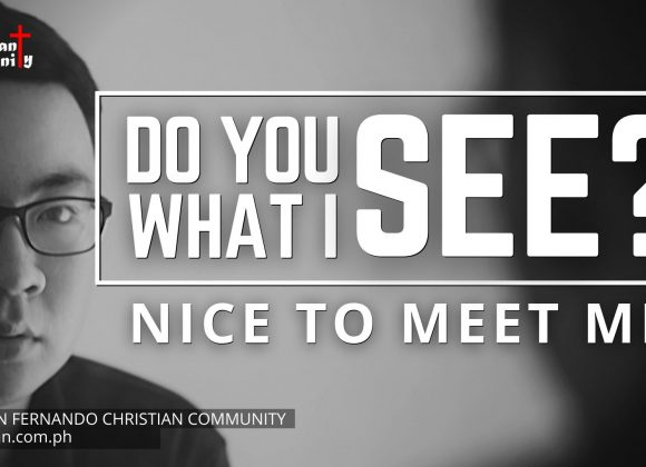 Do You See What I See – Part 2 (Nice To Meet Me)