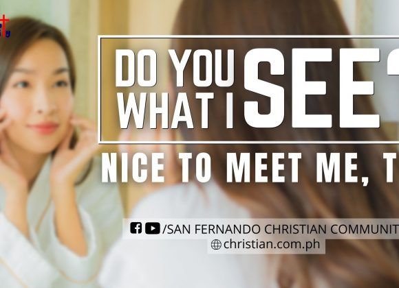 Do You See What I See? – Part 3 (Nice To Meet Me, Too)