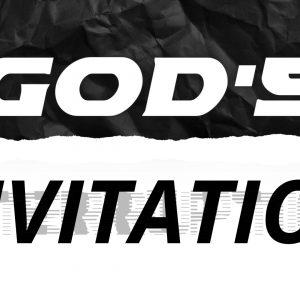 God's I̶n̶t̶e̶r̶r̶u̶p̶t̶i̶o̶n̶ Invitation